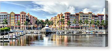 Naples Bayfront Canvas Print