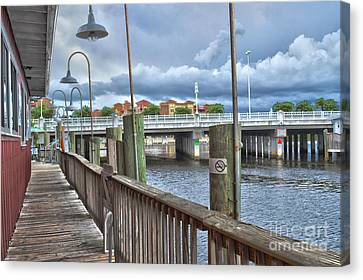 Naples Florida Waterfront Canvas Print