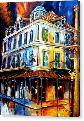 Napoleon House Canvas Print by Diane Millsap