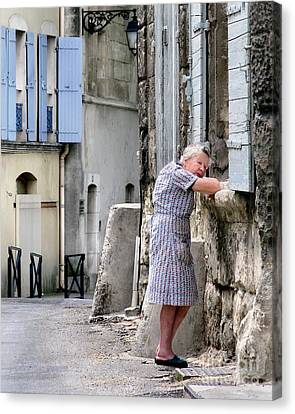 Naptime In Arles. France Canvas Print by Jennie Breeze