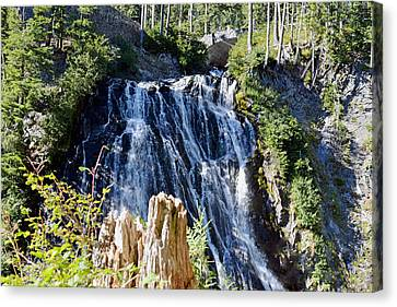 Canvas Print featuring the photograph Narada Falls by Anthony Baatz