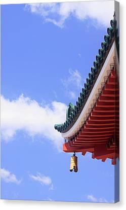 Narita Jinja (shrine Canvas Print by Paul Dymond