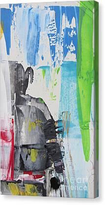 Frailty Canvas Print - Narrow Mobility by Omar Hafidi