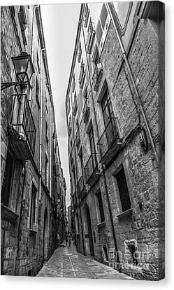 Narrow Streets Of Spain Canvas Print