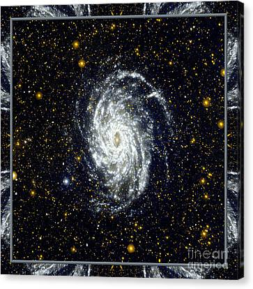 Nasa Big Brother To The Milky Way Canvas Print by Rose Santuci-Sofranko