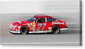 Nascar Ford Canvas Print