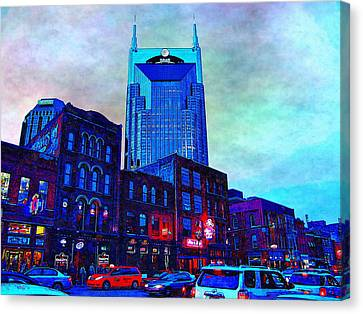 Nashville Guardian Canvas Print by Glenn McCarthy Art and Photography