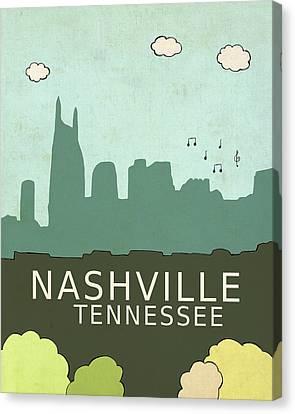 Nashville Canvas Print by Lisa Barbero