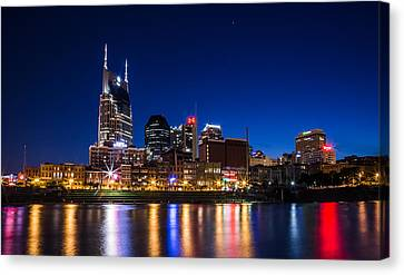 Nashville Magic Hour  Canvas Print