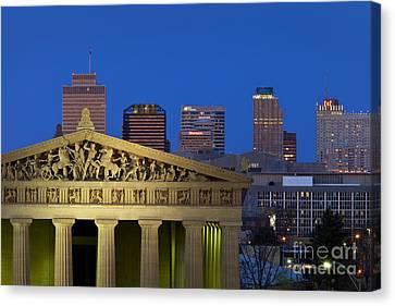 Nashville Parthenon Canvas Print by Brian Jannsen