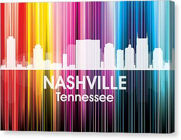 Nashville Tn 2 Canvas Print by Angelina Vick