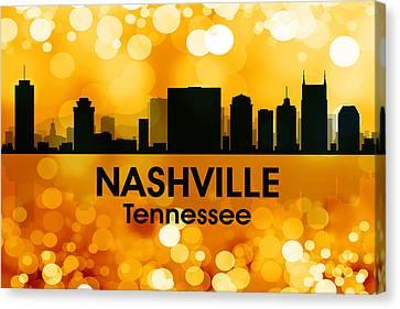 Nashville Tn 3 Canvas Print by Angelina Vick