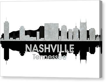 Nashville Tn 4 Canvas Print by Angelina Vick
