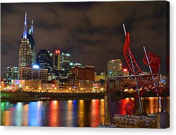 Nashvilles Ghost Ballet Canvas Print by Frozen in Time Fine Art Photography