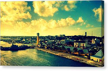 Nassau The Bahamas Canvas Print