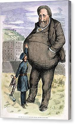 Nast Tweed's Corruption Canvas Print by Granger
