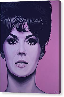 Natalie Wood Canvas Print by Paul Meijering