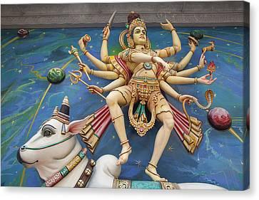 Nataraj Dancing Shiva Statue Canvas Print