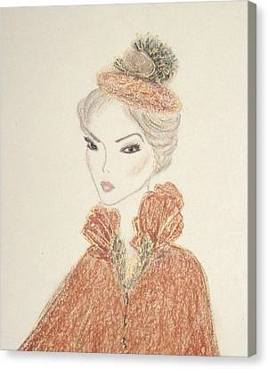 Natasha Canvas Print by Christine Corretti