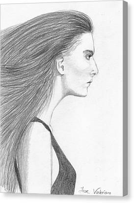 Natasha Poly Canvas Print