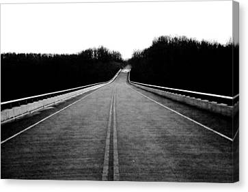 Natchez Trace Parkway  Canvas Print by Krista Sidwell
