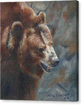 Nate - The Bear Canvas Print