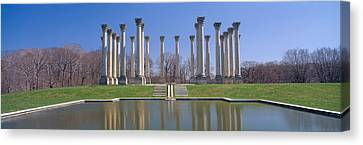 National Capitol Columns, National Canvas Print by Panoramic Images