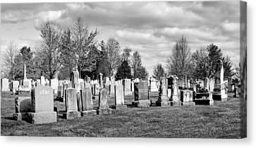 National Cemetery - Gettysburg Battlefield Canvas Print