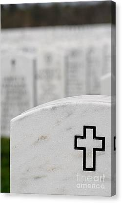 National Cemetery Of The Alleghenies Canvas Print