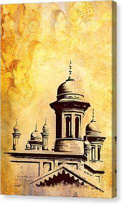 Baltit Canvas Print - National College Of Arts Lahore by Catf