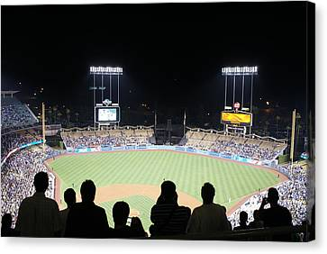 National Game Canvas Print by Will Hanley