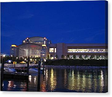 National Harbor - 121227 Canvas Print by DC Photographer