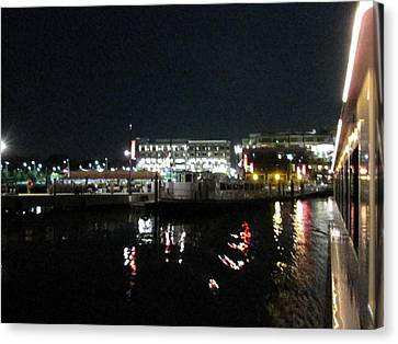 Md Canvas Print - National Harbor - 121234 by DC Photographer