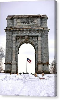 National Memorial Arch Canvas Print by Olivier Le Queinec
