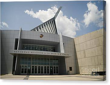 National Museum Of The Marine Corps Canvas Print by Carol Lynn Coronios