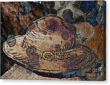 National Park Service Ranger Hat Canvas Print by John Stephens