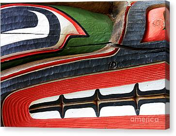 Native Abstract Canvas Print by Sue Harper