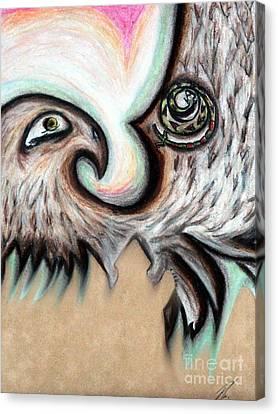 Native American Eye Of The Eagle 1 Canvas Print