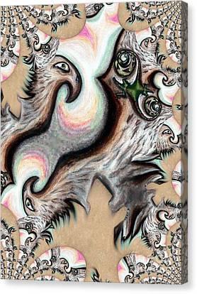 Native American Eye Of The Eagle 2 Canvas Print