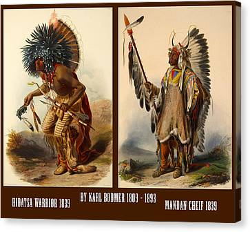 Native American Poster Canvas Print