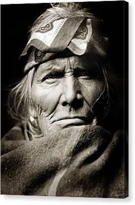 Native American Zuni -  Si Wa Wata Wa  Canvas Print by Jennifer Rondinelli Reilly - Fine Art Photography