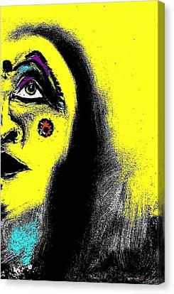Native Immortal Woman  Canvas Print