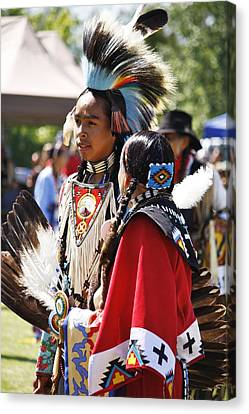 Canvas Print featuring the photograph Native Pride Shines by Al Fritz