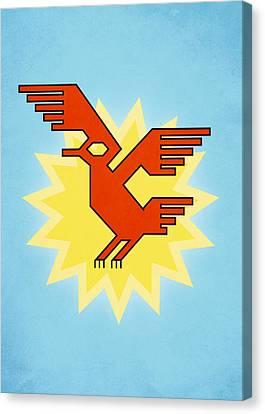 Native South American Condor Bird Canvas Print