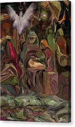 Nativity 1113 Canvas Print by David Lane