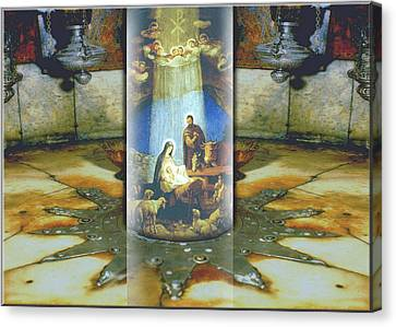 Nativity 2009 Canvas Print