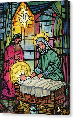 Nativity  Canvas Print by Stanley Cooke