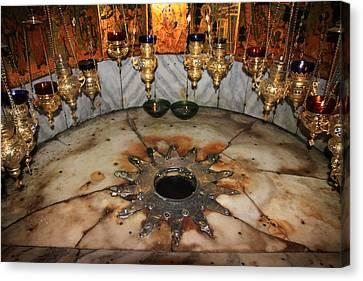 Christian Sacred Canvas Print - Nativity Star by Stephen Stookey