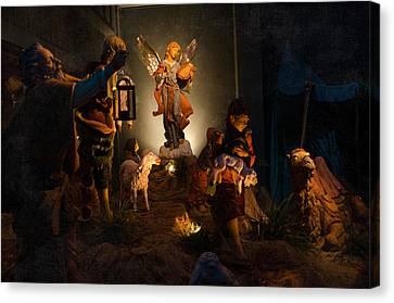 Nativity  Canvas Print by Susan  McMenamin