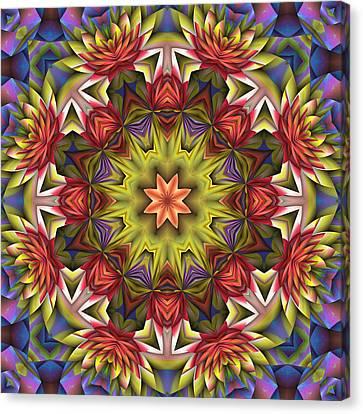 Natural Attributes 18 Square Canvas Print